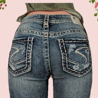 Silver jeans- beautiful!! size 5