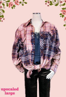 Wrangler recycled flannel shirt XL