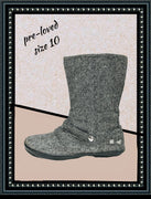 Roxy tweed boots - adorable - size 10