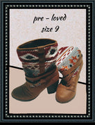 Route 66 boots size 9 so cute!!