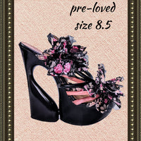 Wild Rose shoes - adorable - size 8.5 (b)