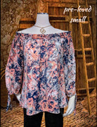 Ana shirt - beautiful combination of colors - small (b)