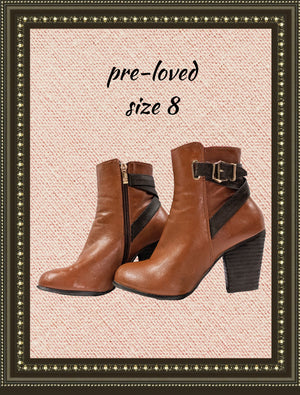 DBDK fashion boots -  classy and comfy- size 8(b)