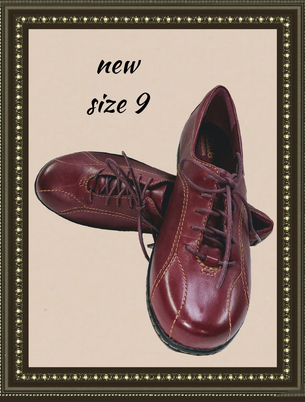 Clark's breathable leather shoes- so comfy - 9(b)