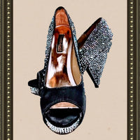 Benjamin Adams shoes -  all glitz and comfy- size 8(b)