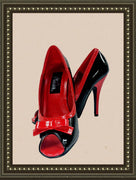 Pleaser high heels - so cute - size 7 (b)