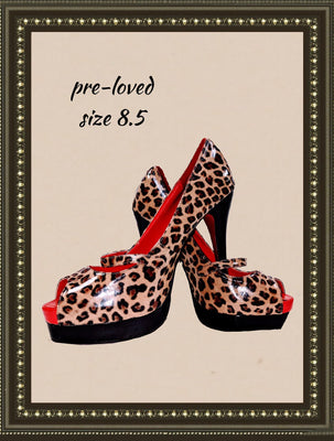 Glamour-04 shoes -absolutely adorable - size 8.5 (b)