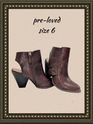 DOLCE by Mojo Moxy boots -  so cute!! - size 6 (b)