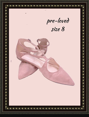 Forever 21 slip-on shoes - so cute! - size 8 (b)