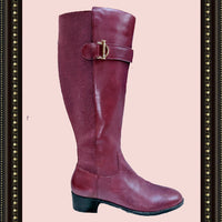 Issac Mizrah boots- quality with distinction - size 7.5 (b)
