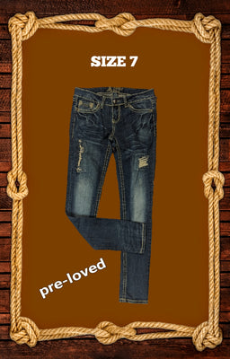 Antique River jeans size 7