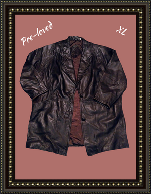 Preston & York soft leather jacket size X/L