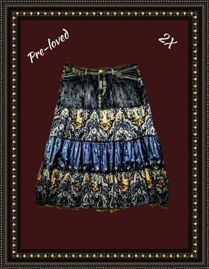 Faded Glory skirt so cute  size  2X