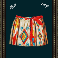 mm Cmm Cmm adorable tribal skirt  - large