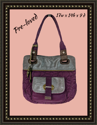 Fossil handbag - quality and beauty combined!