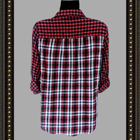 Intro plaid shirt - CUTE! Great deal