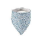 Blue Cheetah Bandana Bib