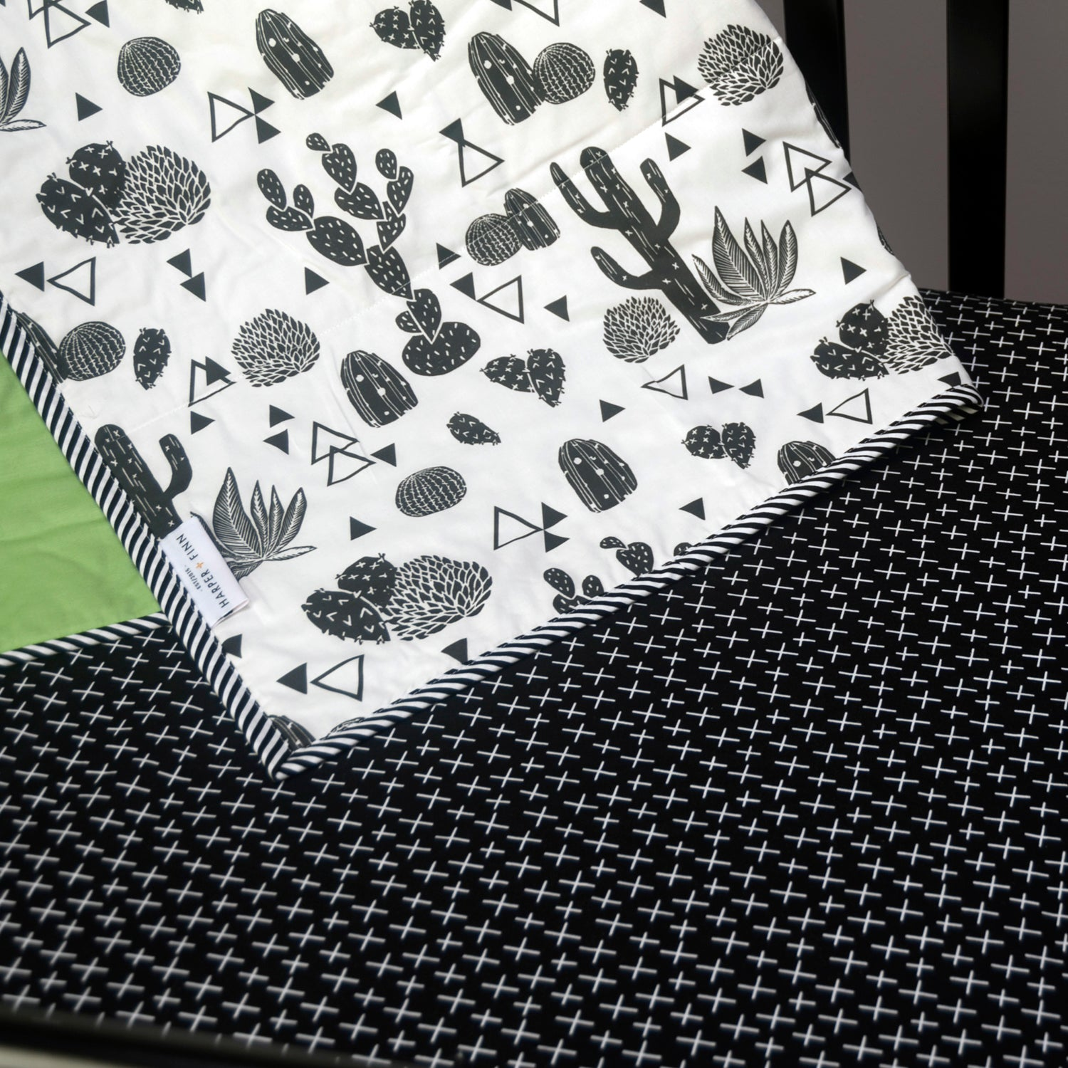 Cotton Fitted Crib Sheet - Crossover