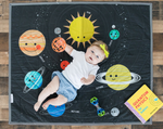 Outer Space Activity Play Mat