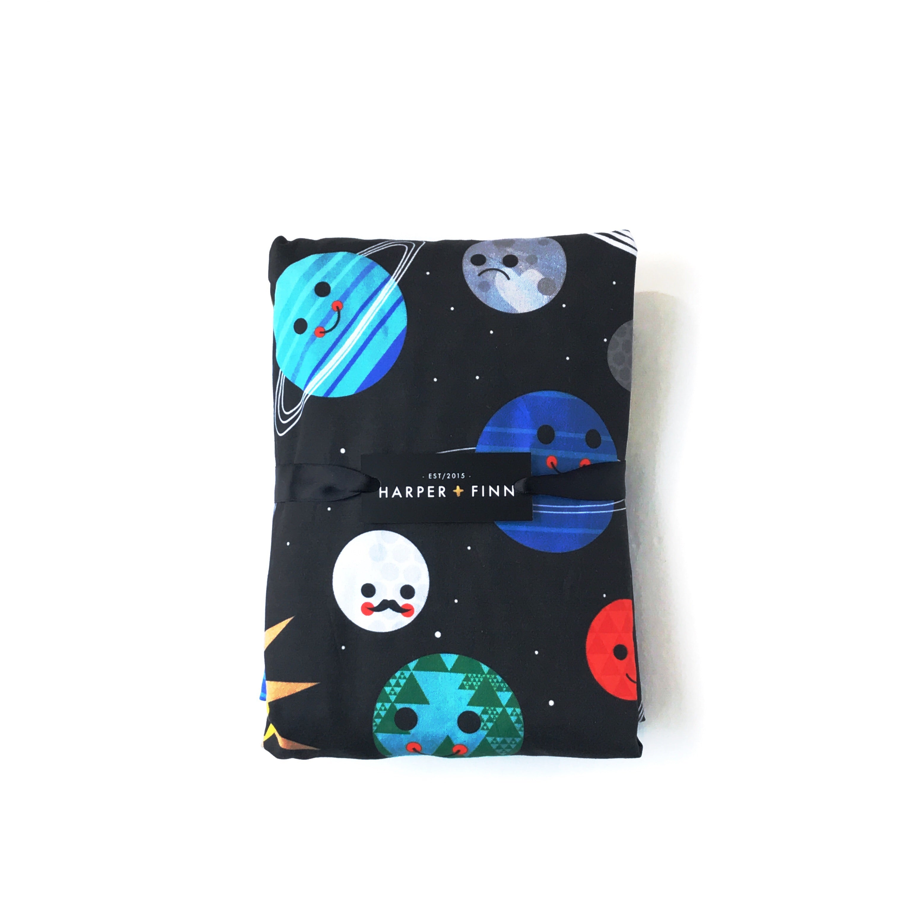 Cotton Fitted Crib Sheet - Planet Buddies
