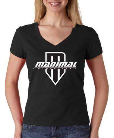 Ladies Train Like a MANIMAL tee