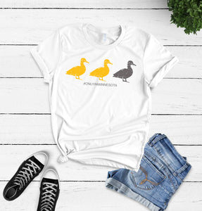 Duck, Duck, Gray Duck T-Shirt