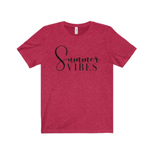 Summer Vibes - Short Sleeve Tee