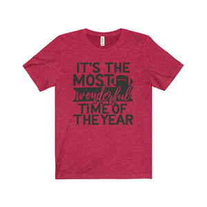 It's The Most Wonderful Time of Year - Short Sleeve Tee