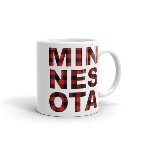 Minnesota State Plaid Mug Mug