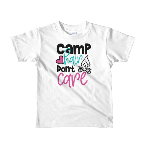 Camp Hair Don't Care - Kids T-shirt