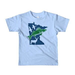 Fish and Hunt Minnesota - Kids T-shirt