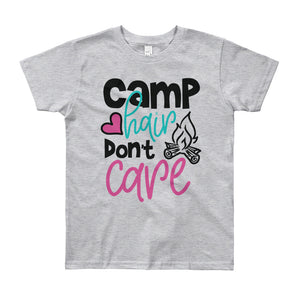 Camp Hair Don't Care - Youth T-Shirt