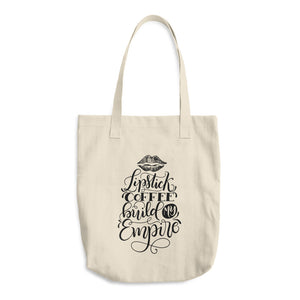 Building My Empire Cotton Tote Bag