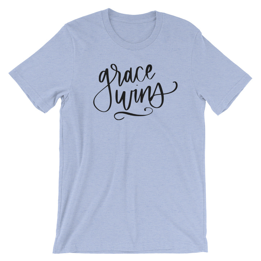 Grace Wins Tee (Variety of Colors)
