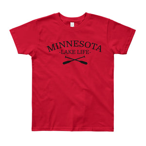 Minnesota Lake Life - Youth T-Shirt