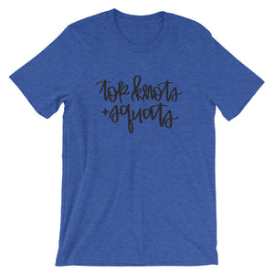 Top Knots & Squats Tee (Variety of Colors)