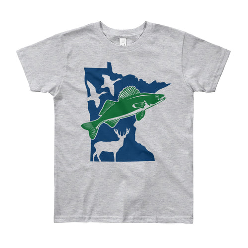 Fish and Hunt Minnesota - Youth T-Shirt
