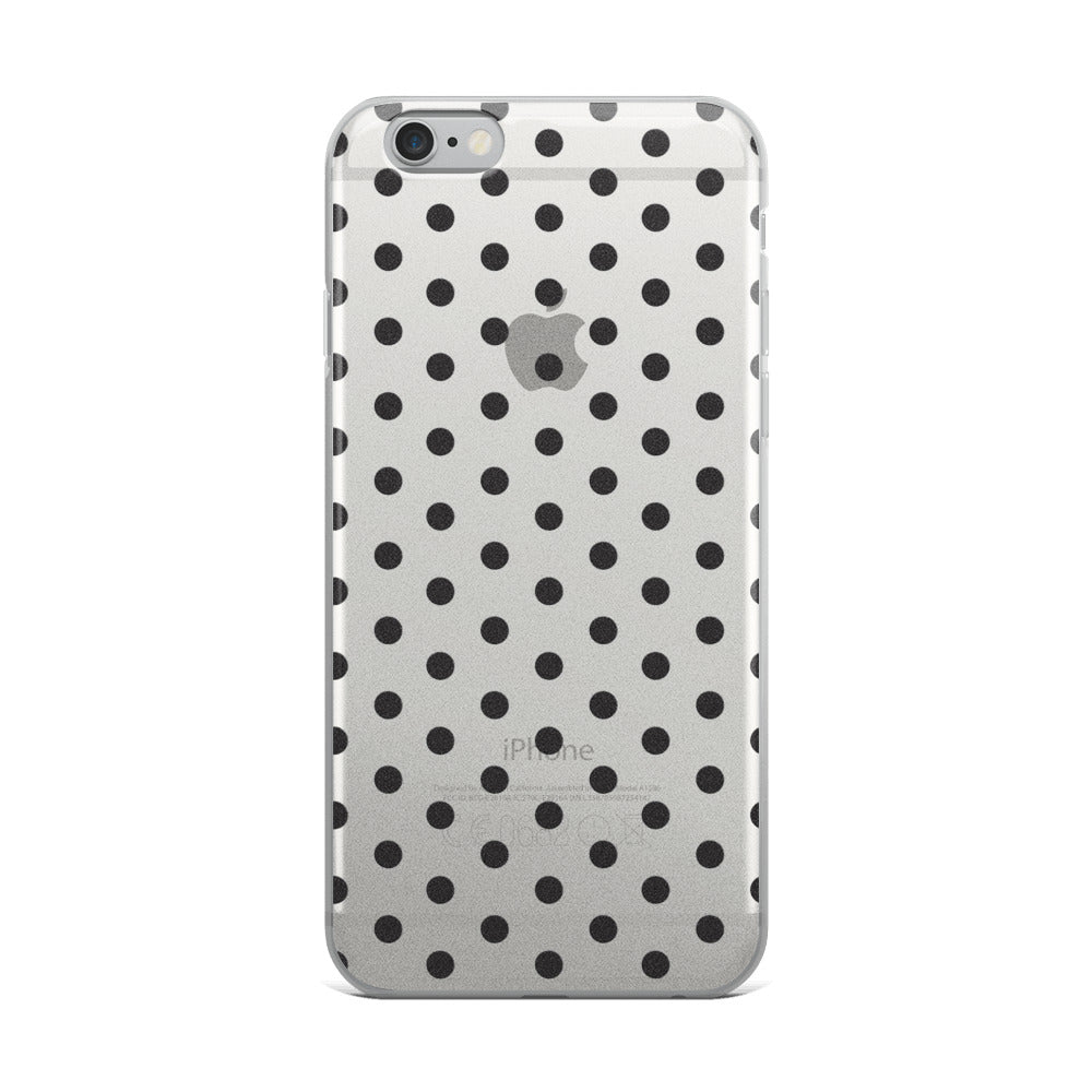 B7W Polka Dots iPhone Case
