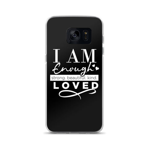 I AM ENOUGH Samsung Case