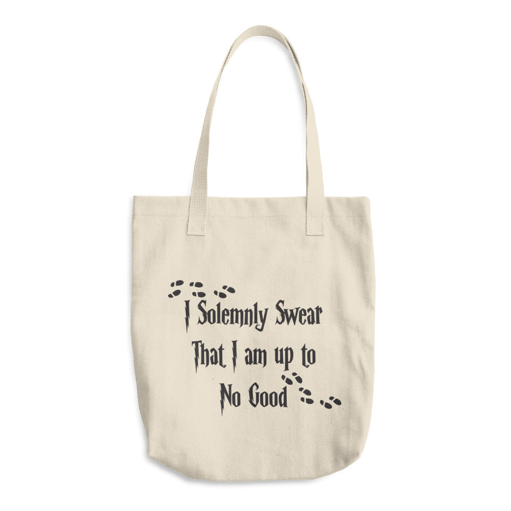 I Solemnly Swear Cotton Tote Bag