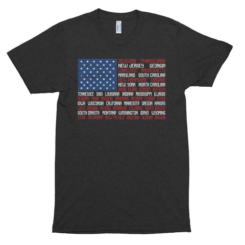 American Flag (distressed) T-shirt