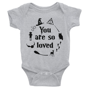 HP - You Are So Loved Infant Bodysuit