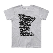 Minnesota Fish - Youth T-shirt