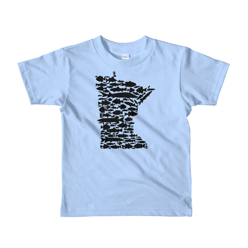 Minnesota Fish - Kids T-shirt