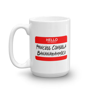 Friends Princess Consuela & Crap Bag Mug