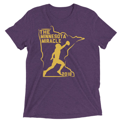 Minnesota Miracle Short Sleeve T-shirt
