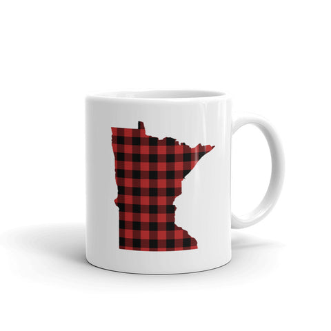 Minnesota Plaid Mug