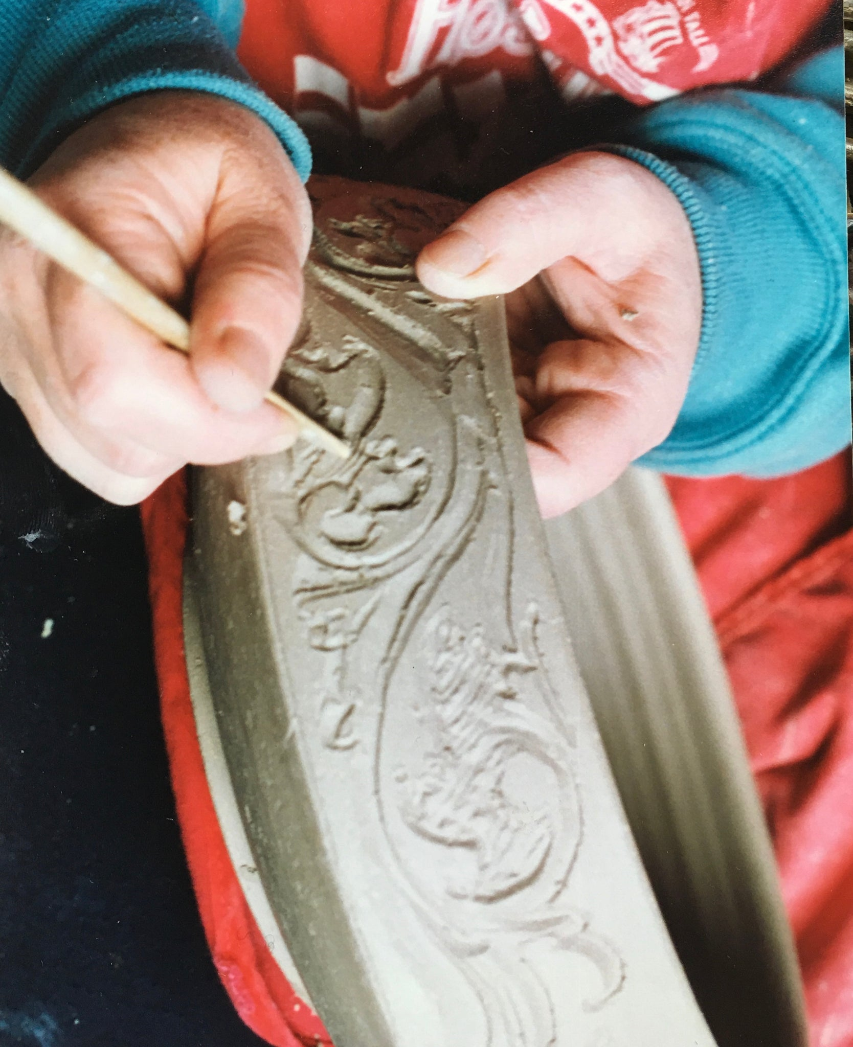 Acanthus Carved Bowl