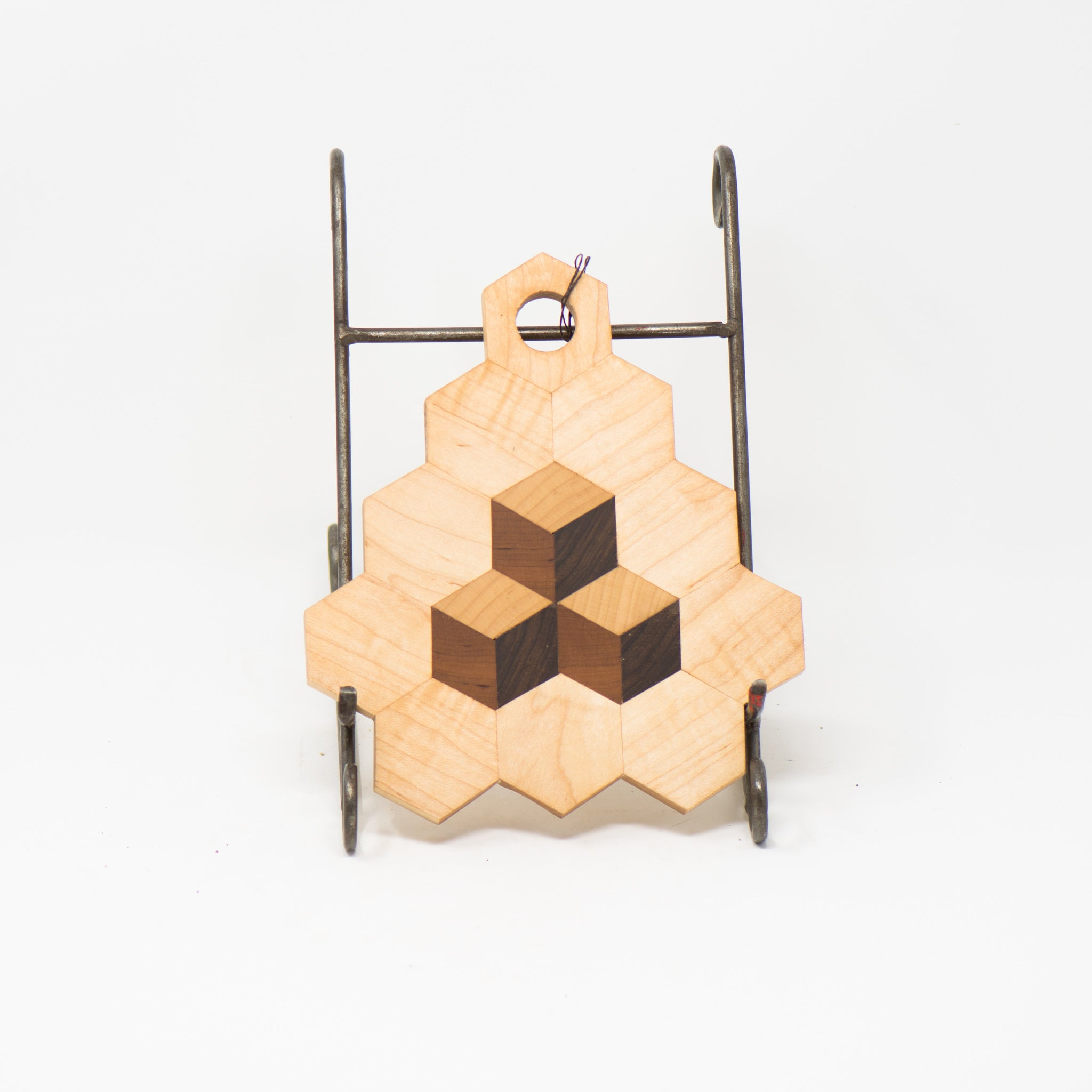 Handmade Hexagon Cutting Boards