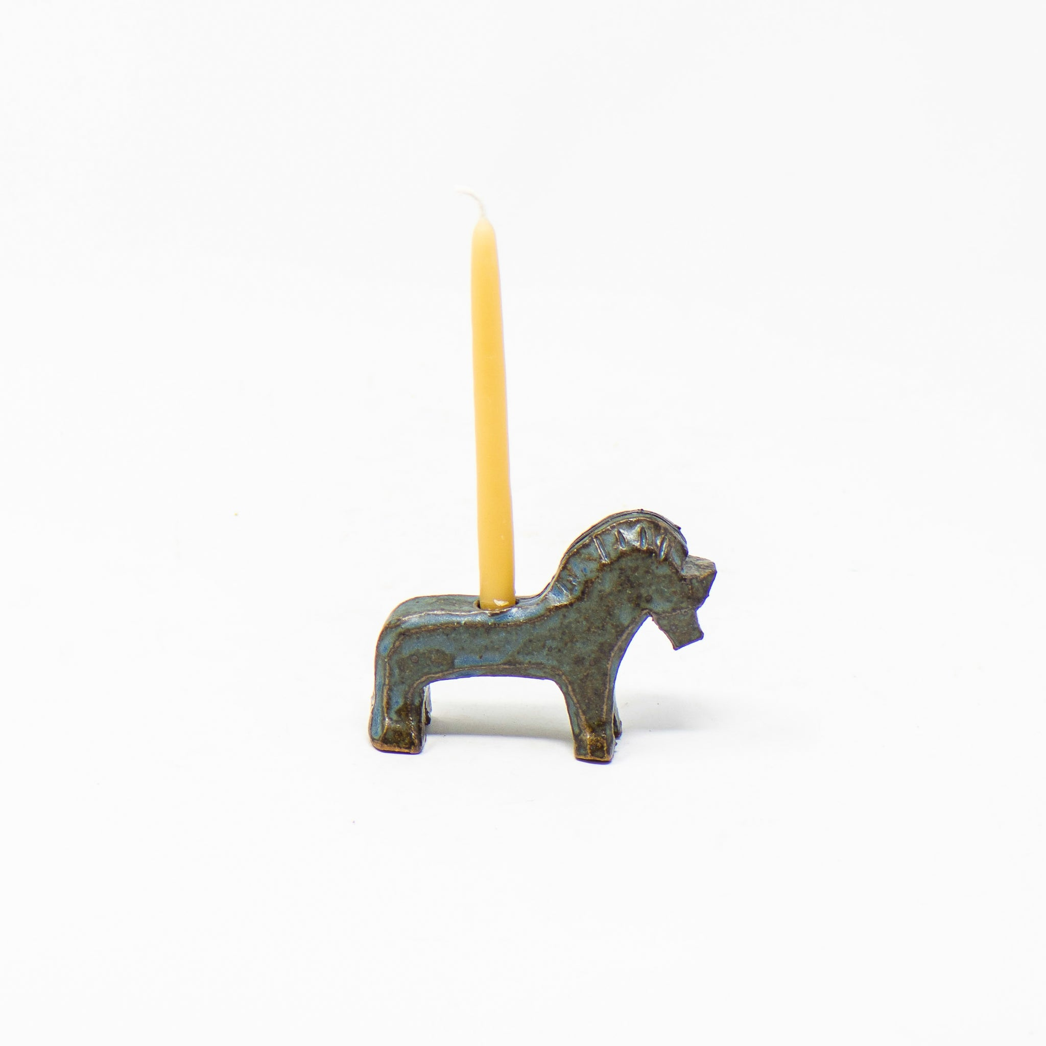 Fjord Horse Candle Holder